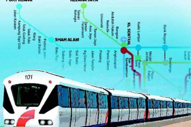 Study On LRT From Kelana Jaya To Klang Via Shah Alam Nears Completion